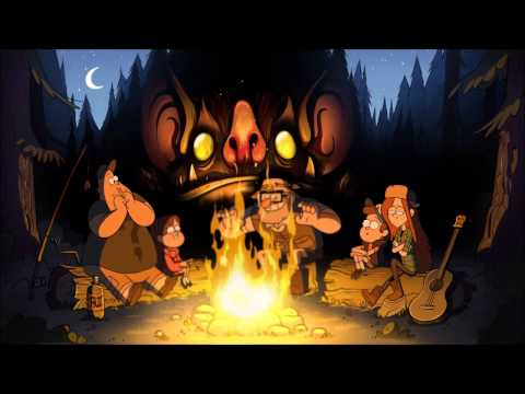 10 Hours of Gravity Falls' Theme Song