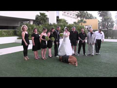 Jethro the ring bearer stole the show at this wedding (out takes)