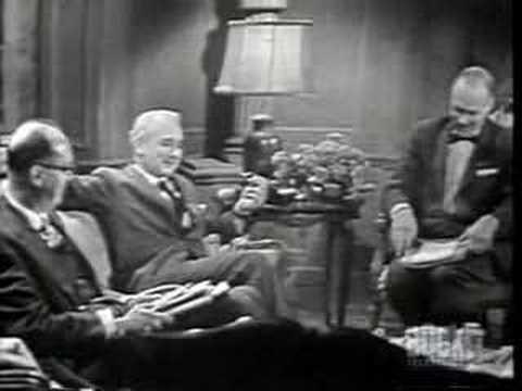 """Vladimir Nabokov discusses """"Lolita"""" part 2 of 2"""