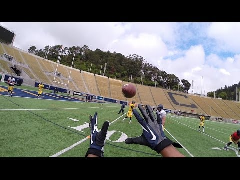 Cal Football: 2014 Spring Practice- GoPro Helmet Cam