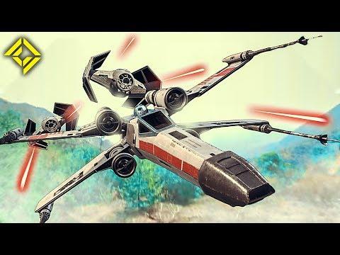 """Всего три дрона, имитирующих корабли из Star Wars, и три фигурки (R2D2 и два клона) — и получается фильм. - Крутейшая имитация """"Звездных войн"""" с помощью дронов и пары игрушек"""