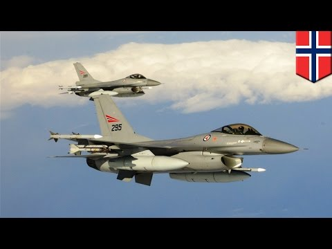 New Cold War? Norwegian F-16's near miss with Russian MiG-31