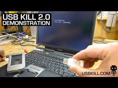 USB Kill 2.0 Demonstration Video