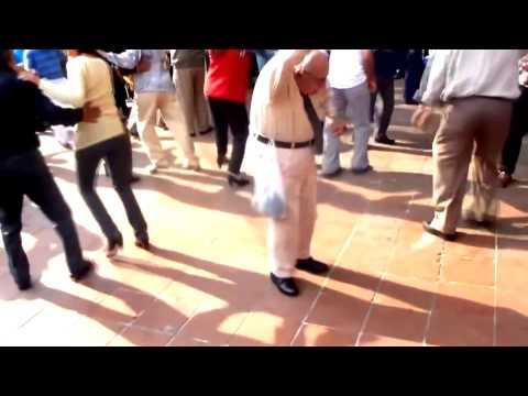 Old Man Dances to Dubstep :) OldMan-Step (Yoshi's dinosaur egg hunt remix)