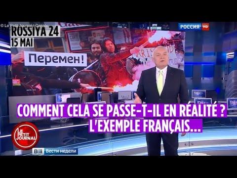 Когда самый крупный российский телеканал манипулирует визуальной информацией - Le Petit Journal