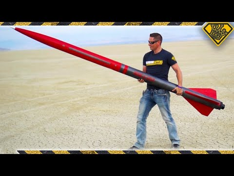 Taping a Smartphone To A 10 Ft Rocket