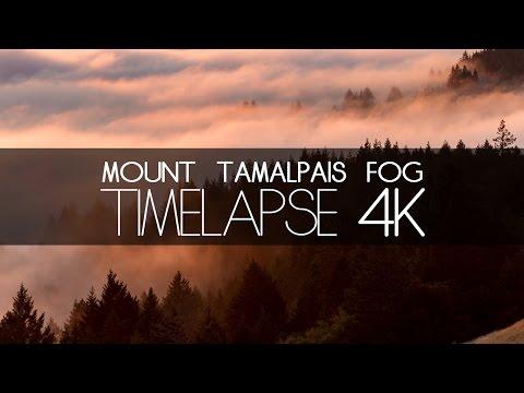 Mount Tamalpais Fog - Timelapse 4k