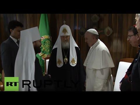 , Встреча тысячелетия: Как Патриарх впервые в истории встретился с Папой, LIKE-A.RU
