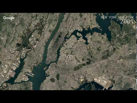 Google Timelapse: New York, New York