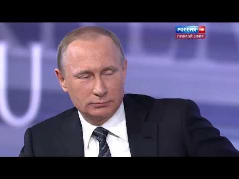 - Стендап Путина: из пресс-конференции президента сделали ржачный ролик