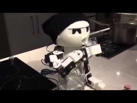 Robot Drinky, drinking robot by Park Eun Chan - 1