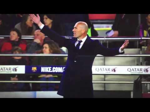 Zidane vs Barcelona reactions