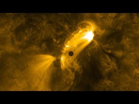 NASA показало прохождение Меркурия по диску Солнца во всей красе - космос, знания