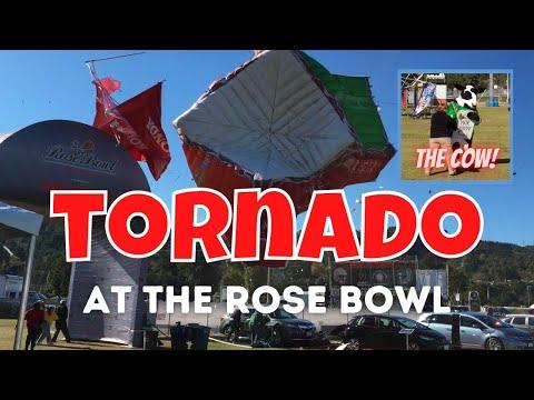 Tornado at the Rose Bowl