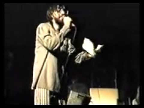"""ДДТ """"Революция"""" - первое исполнение на публике."""