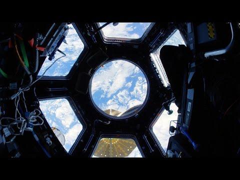 Space Station Fisheye Fly-Through 4K (Ultra HD)
