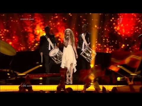 "Дания - Эмили де Форест (Emmelie de Forest), ""Only Teardrops"" - Eurovision 14.05.2013"