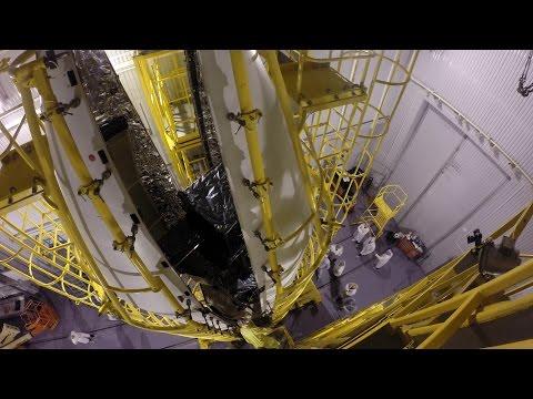 Sentinel-3A prepares for liftoff (4K timelapse)