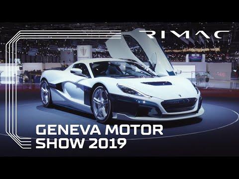 Rimac at Geneva Motor Show 2019