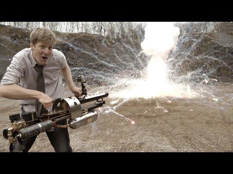 Видео: самый крутой самодельный гранатомёт в действии - необычное, народ, гаджеты