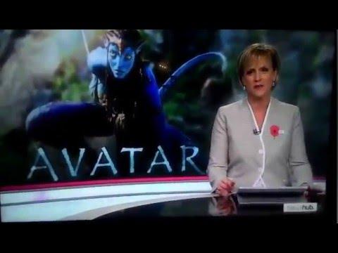 """телевидение, кино - Телеведущая обалдела, читая новость о четырех продолжениях """"Аватара"""""""
