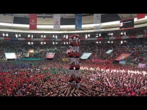 """спорт, необычное, народ - Как строят и разбирают 12-метровую """"человеческую"""" башню"""