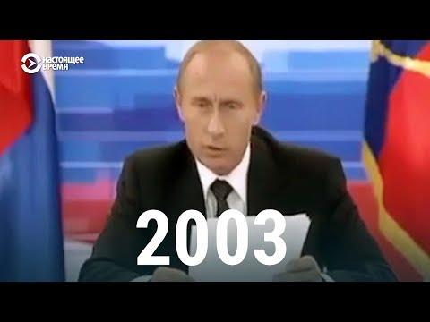 Путин о президентских сроках за последние 20 лет