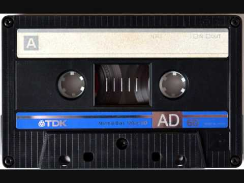 Audio cassette tape chewed up