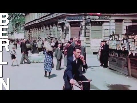 Берлин в июле 1945 года: Уникальное видео в цвете и HD - ностальгия