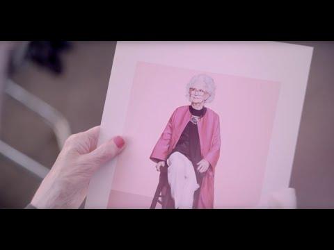 100-летняя модель снялась для Vogue в честь 100-летия журнала - красота, картинки