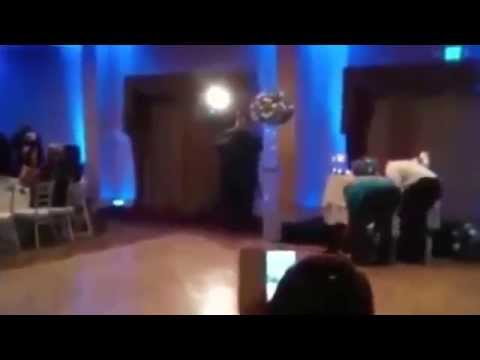 Groomsman Does Backflip During Dance And Knocks Out Bridesmaid