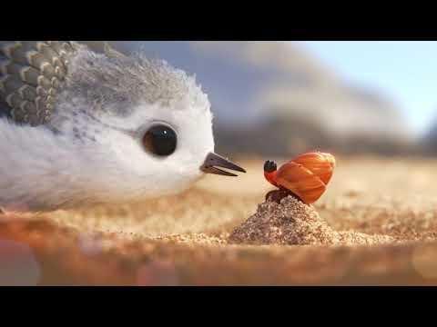 """Посмотрите очаровательный короткий мультик """"Песочник"""" от Pixar - кино, животные, душевное, дети"""
