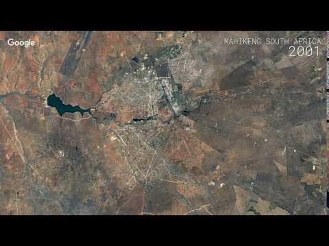 Google Timelapse: Mahikeng, South Africa
