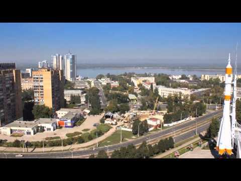 Самара Россия Таймлапс - Samara Russia In Motion Time lapse