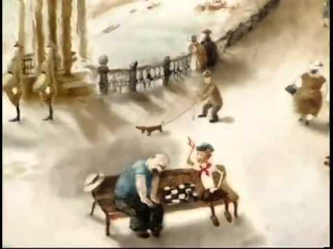 Мультфильм 'Еще раз', студия Александра Петрова, выпускная работа учениц, 2010