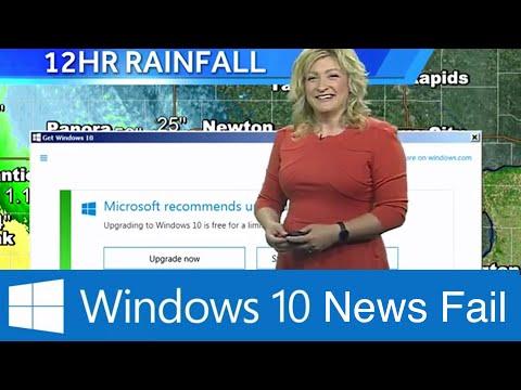 Навязчивые предложения установить Windows 10 вышли на новый уровень - телевидение, пропаганда, гаджеты