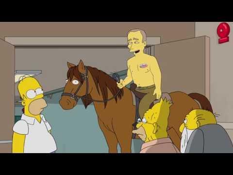 Как Гомер Симпсон голосовал на выборах (28 сезон)