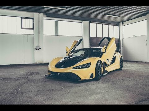 Tushek TS600 pista only one in the world