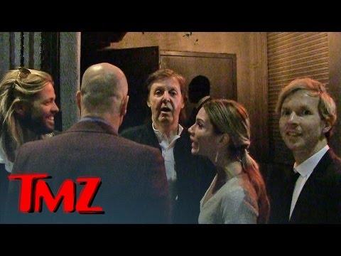 Paul McCartney DENIED at Grammy Party | TMZ