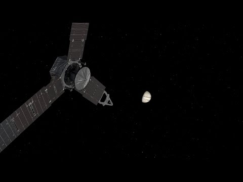 Juno Approach Movie of Jupiter and the Galilean Moons