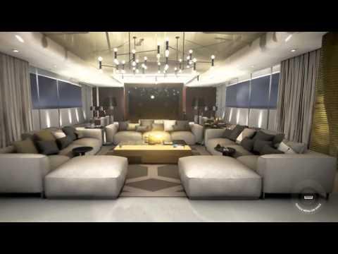 Galactica luxury Yacht Virtual Tour by Case 3D