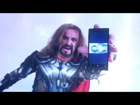 Джигурда Thor делает селфи хуелфи!