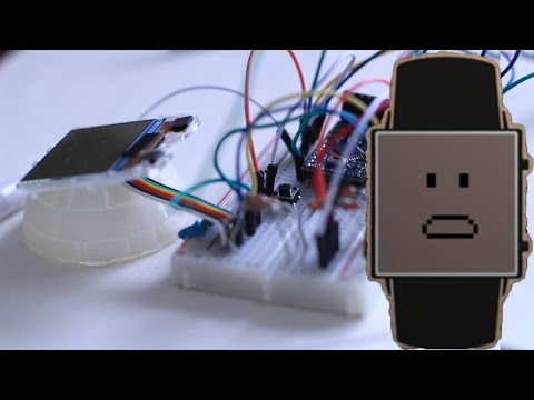 Make Your Own Smartwatch From An Old Cell Phone (Part 2)