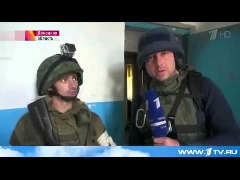 Террористы обстреливают донецкий аэропорт из жилого дома