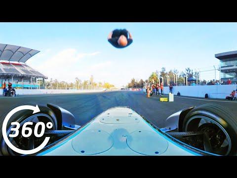 Damien Walters Formula E Backflip In 360 Degrees