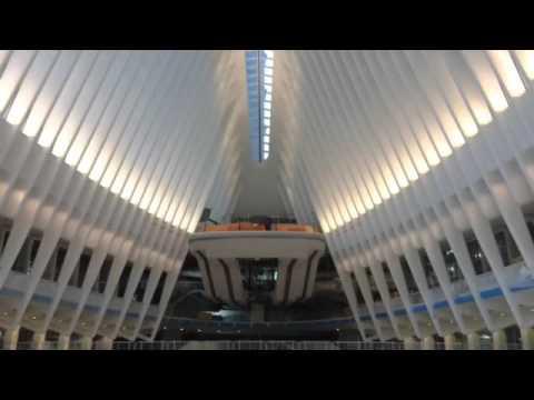 The New World Trade Center Transportation Hub