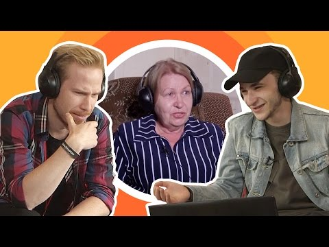 музыка, знания, знаменитости - Как звёзды Youtube отгадывали песни, спетые бабушкой