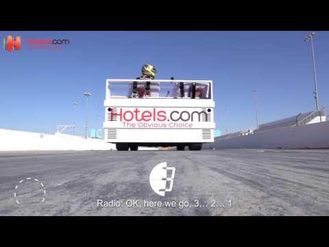 знания, авто, OMG-WTF - Как выглядел самый быстрый заезд на кровати со скоростью 135 км/ч