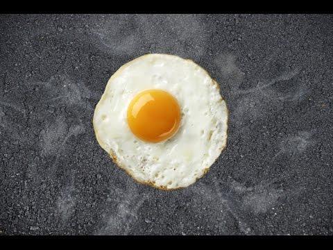 необычное, лайфхак - Видео: как готовят яичницу в Австралии
