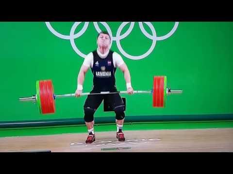 Рио-2016: эта ужасная травма армянского штангиста поставила под вопрос его дальнейшую карьеру - спорт